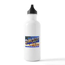 Melbourne Florida Greetings Water Bottle