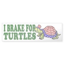 USA Turtle Bumper Bumper Sticker