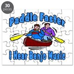 Paddle Faster Canoe Puzzle