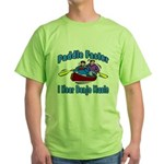Paddle Faster Canoe Green T-Shirt