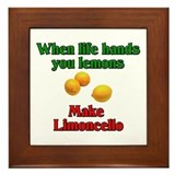 When Life Hands You Lemons Framed Tile