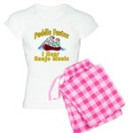 Paddle Faster I hear Banjos Women's Light Pajamas