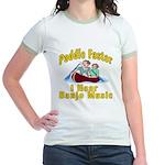 Paddle Faster I hear Banjos Jr. Ringer T-Shirt