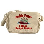 Paddle Faster Messenger Bag