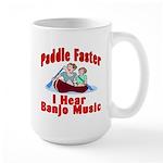 Paddle Faster Large Mug