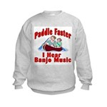 Paddle Faster Kids Sweatshirt