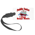 Paddle Faster Large Luggage Tag