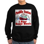 Paddle Faster Sweatshirt (dark)