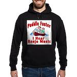 Paddle Faster Hoodie (dark)