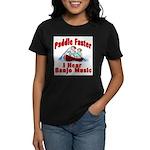 Paddle Faster Women's Dark T-Shirt