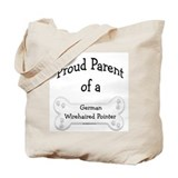 Proud Parent of a Wirehaired Pointer Tote Bag