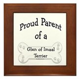 Proud Parent of a Glen of Imaal Framed Tile