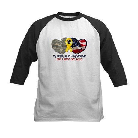hearts-ribbon--daddy-afghanistan Baseball Jersey