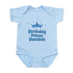 1st Birthday Prince DOMINIC! Infant Bodysuit