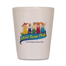 Dixie Swim Club Logo Shot Glass