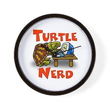 Turtle Nerd Wall Clock