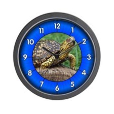 Eastern Box Turtle Wall Clock