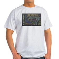 Chalkboard Wordle Light T-Shirt