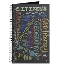 Chalkboard Wordle Journal