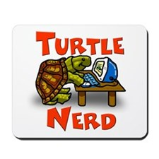 Turtle Nerd Mousepad