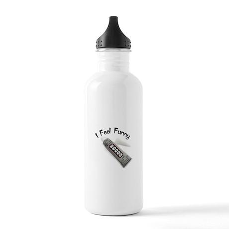 feel funny.jpg Stainless Water Bottle 1.0L