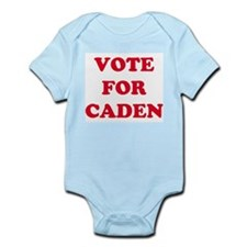 VOTE FOR CADEN  Infant Creeper