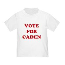 VOTE FOR CADEN  T