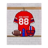 Personalized grid Iron Football jersey Stadium Bl