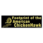 Footprint of the American Chicken Hawk