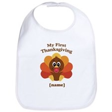 Custom First Thanksgiving Bib