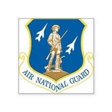 Air National Guard Rectangle Sticker