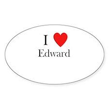 i love Edward Decal