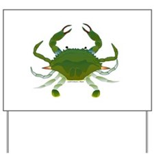 Blue Crab Yard Sign