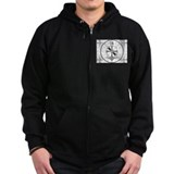 The Indian Head Test Pattern Zip Hoody