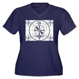 The Indian Head Test Pattern Women's Plus Size V-N