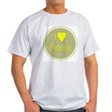 I Love Phoenix Ash Grey T-Shirt