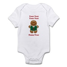 Personalize Gingerbread Baby [elf] Infant Bodysuit
