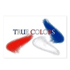 True Colors - Postcard