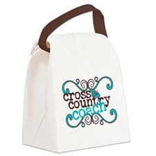 Cross Country Coach Canvas Lunch Bag