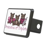 Grandma Of Triplets Rectangular Hitch Cover