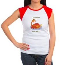 Turkey Coma Custom Women's Cap Sleeve T-Shirt