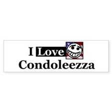 I Love Condoleezza Bumper Bumper Sticker