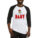Firemans Baby on Way Baseball Jersey