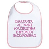 DADDY BACK FROM IRAQ Bib