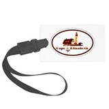 Cape Elizabeth ME - Oval Design. Luggage Tag