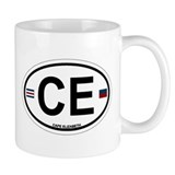 Cape Elizabeth ME - Oval Design. Mug