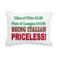 Being Italian (blk)T-Shirt.png Rectangular Canvas