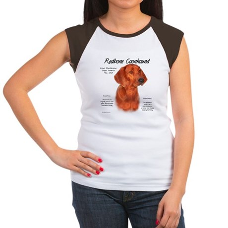 Redbone Coonhound Women's Cap Sleeve T-Shirt