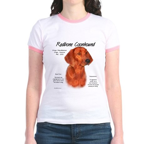 Redbone Coonhound Jr. Ringer T-Shirt