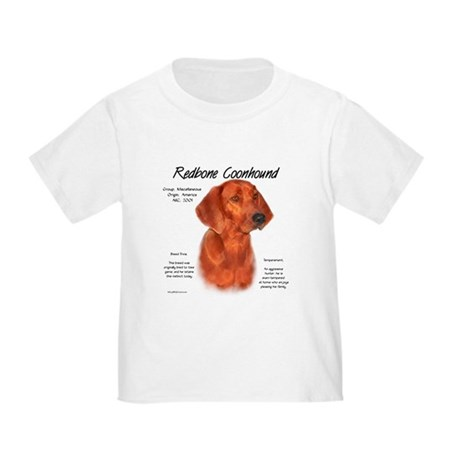 Redbone Coonhound Toddler T-Shirt